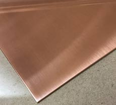Copper Stainless Steel Sheet